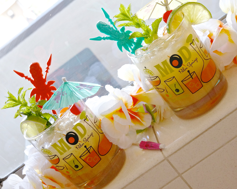 A rendition of the Original 1944 Mai Tais - using homemade ingredients!!