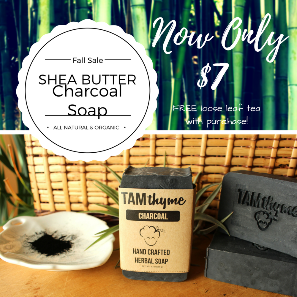 charcoal soap sale tamthyme