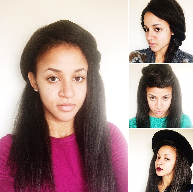 How To Style And Maintain Straightened Cuban Twist Crochet Braids