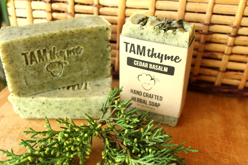 Cedar Balsam Soap -   A lovely soap that is reminiscent of a Christmas tree without being too overpowering; Lightly fragranced with Himalayan Cedar, Balsam and Pine