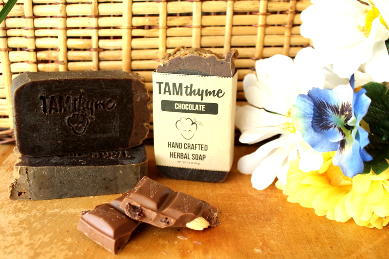 Chocolate Soap -   I created a mini version of this soap awhile ago but never got the chance to come around to making it again...until now. The time when everything is sweet and decadent in life and in food, I thought why not mimic this in a soap bar! Delectable enough to eat...but don't.