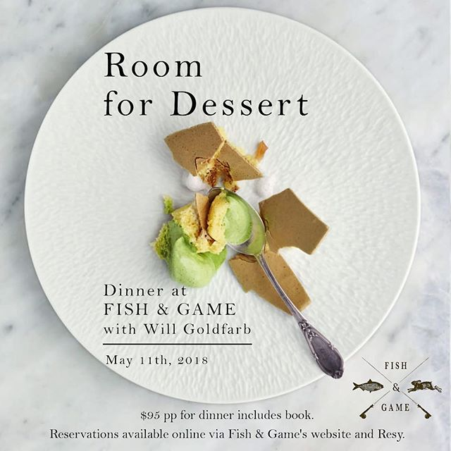 @willtgoldfarb @room4dessert_wg joins me and the gang @fishgamehudson I'm not sure how many reservations are left, but I suggest you hop to it! Link in bio...