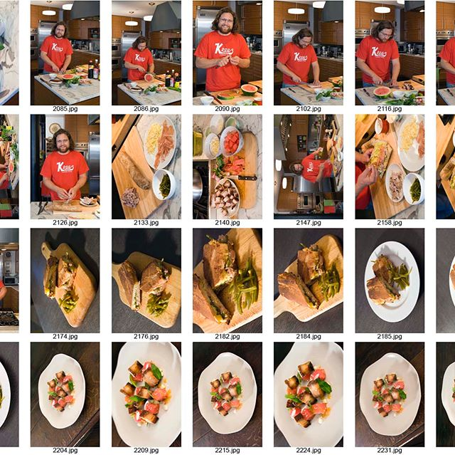 "#tbt to a Contact Sheet from 2006, shot by John Lei for the @NYtimes ❤ 🔥""Pork Belly and Watermelon Salad""🔥 #classics . . #chefs #cheflife #zakarypelaccio #chefsofinstagram #hudson #hudsonny #hudsonnewyork #upstate #upstatenewyork #upstateny #nycrestaurants #huffposttaste #eaterny #grubstreet #seriouseats #buzzfeast #tastingtable #newforkcity #timeoutnewyork #restaurantfoodphotos#restaurantfoodpics#restaurantfoodphotography #chicagoeats #dailyfoodfeed #porkbellyandwatermelonsalad #nytimes #2006"