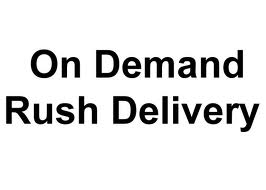 On demand courier service, Rush Deliveries