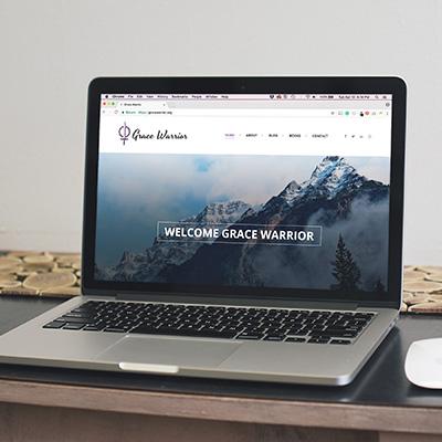 Grace Warrior   Web Design