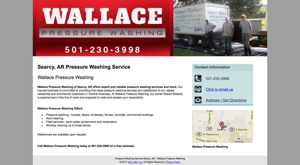 WallacePressureWashingOldWebsite.png