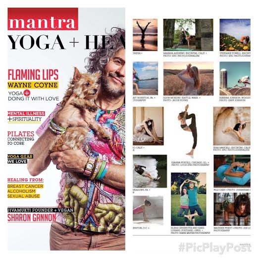 Nov/Dec Issue of Mantra Yoga + Health Magazine