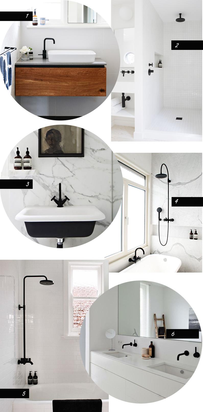 1) The Design Files2) Amee Allsop3) Hecker Guthrie via Apartment 344) No Glitter No Glory5) Share Design 6) Oscar V