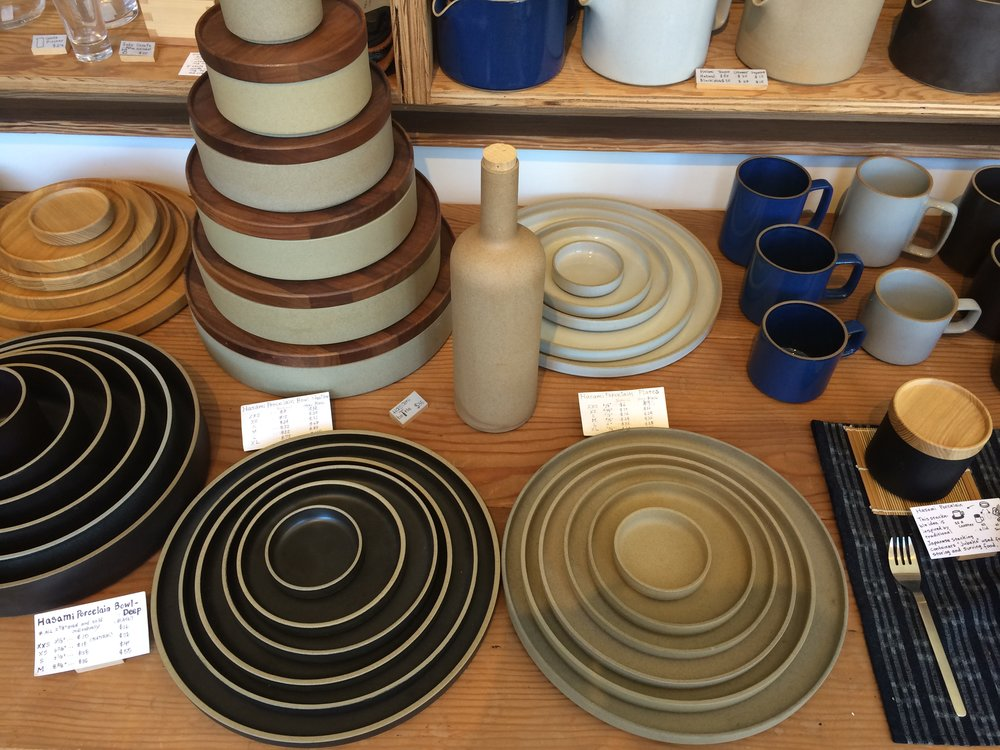 Field trip to Abbot Kinney Blvd. to oggle Hasami Japanese porcelain dishes at Tortoise General Store