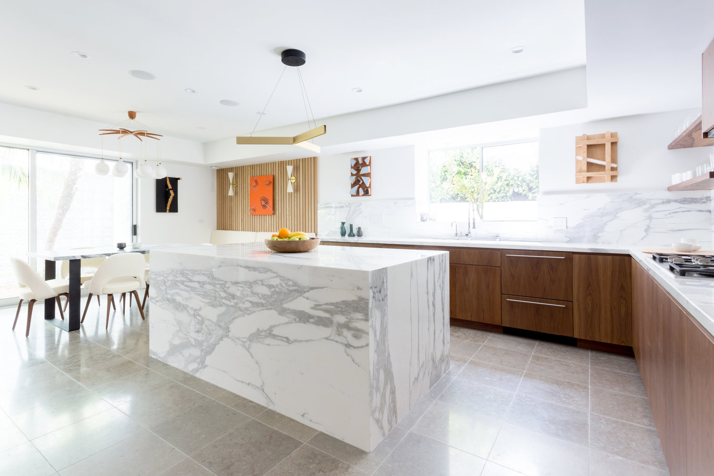 santa monica kitchen — veneer designs