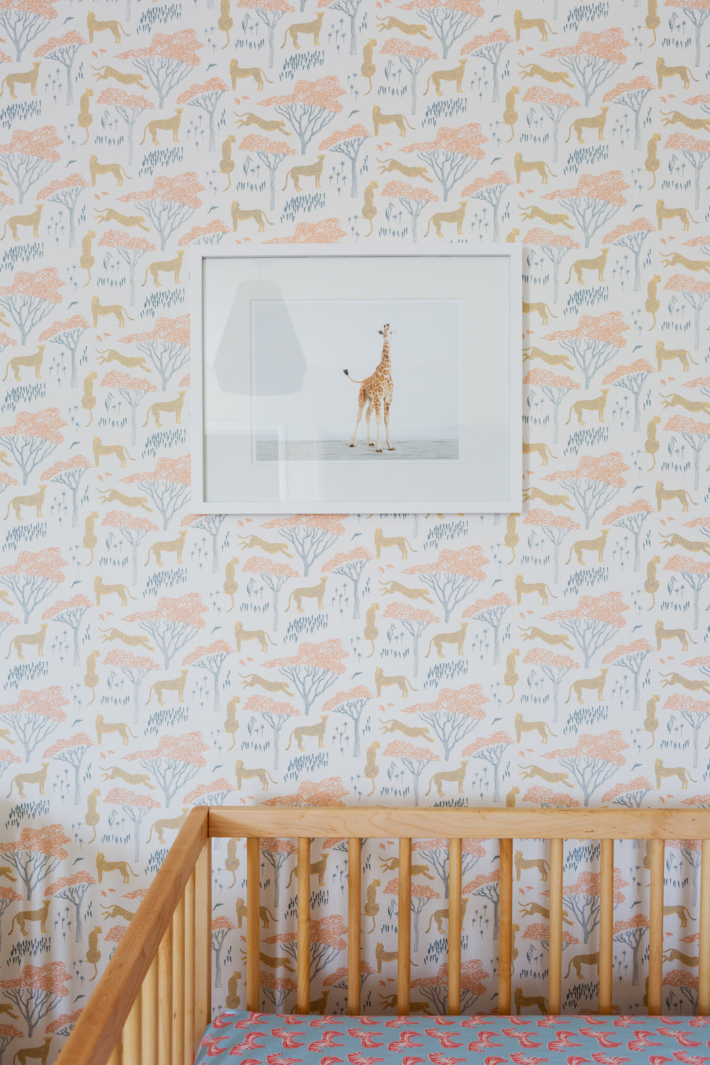 Serengeti wallpaper  for Los Feliz nursery