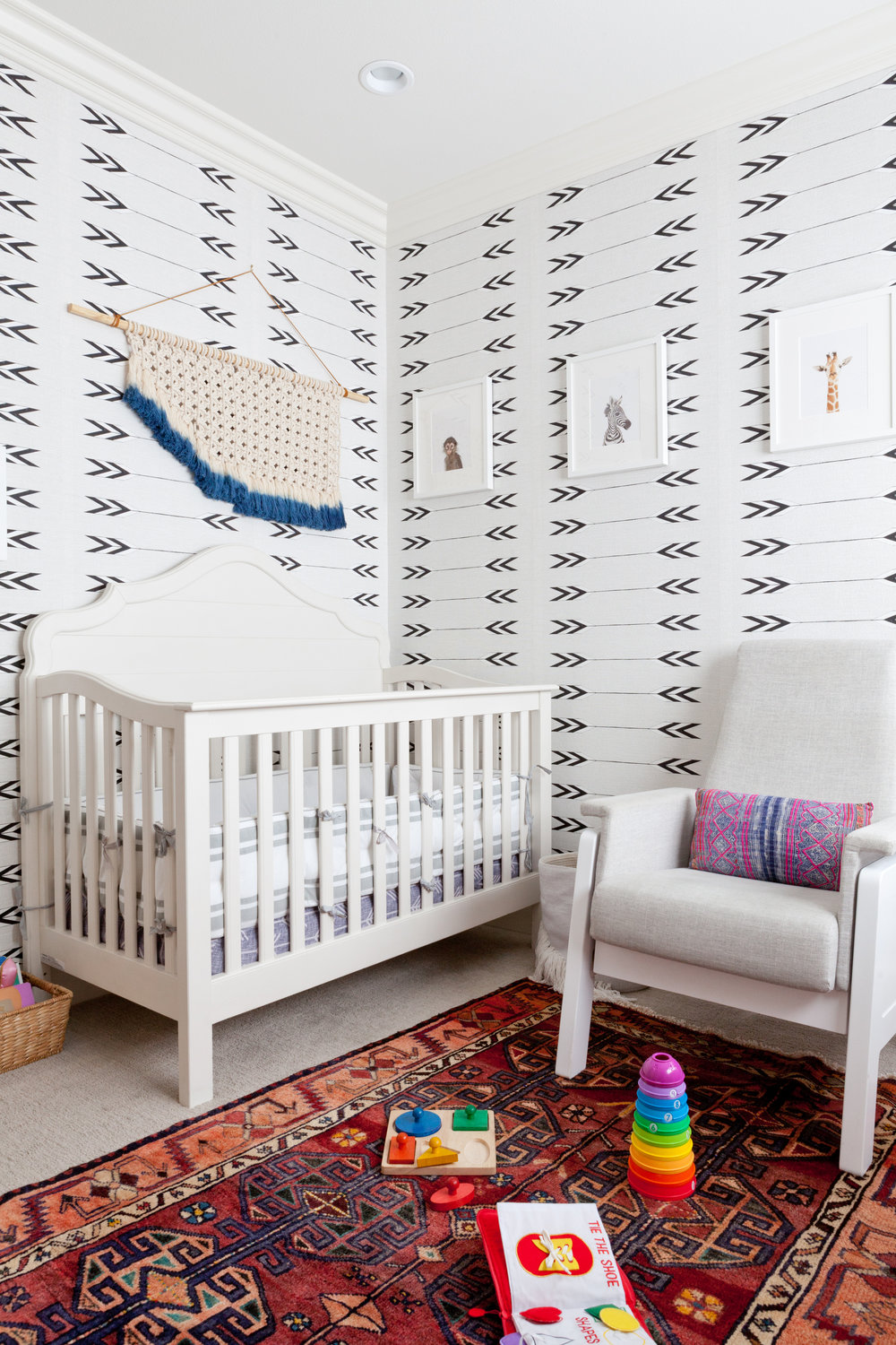 Cavern Home Tapestry  wallpaper in Playa Vista nursery