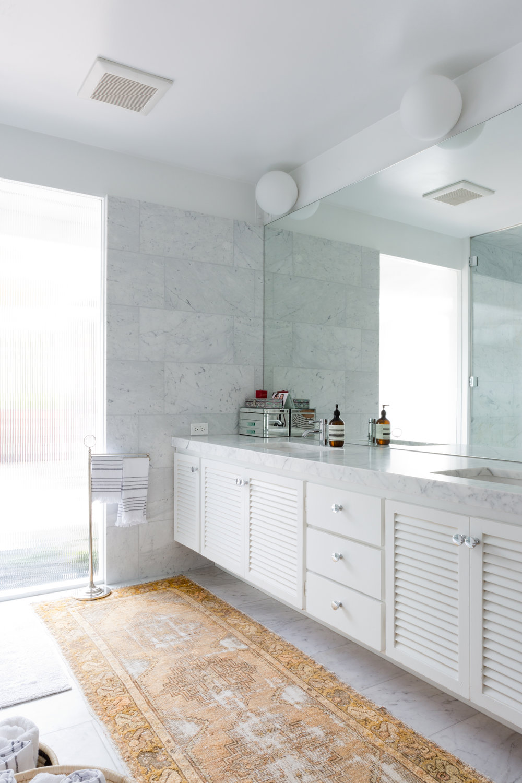 Hollywood Hills master bathroom