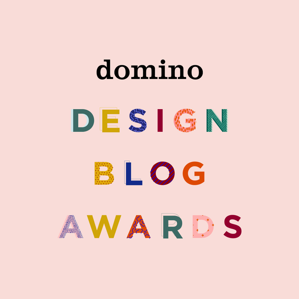 Domino Magazine 2017 Design Blog Awards Semifinalist