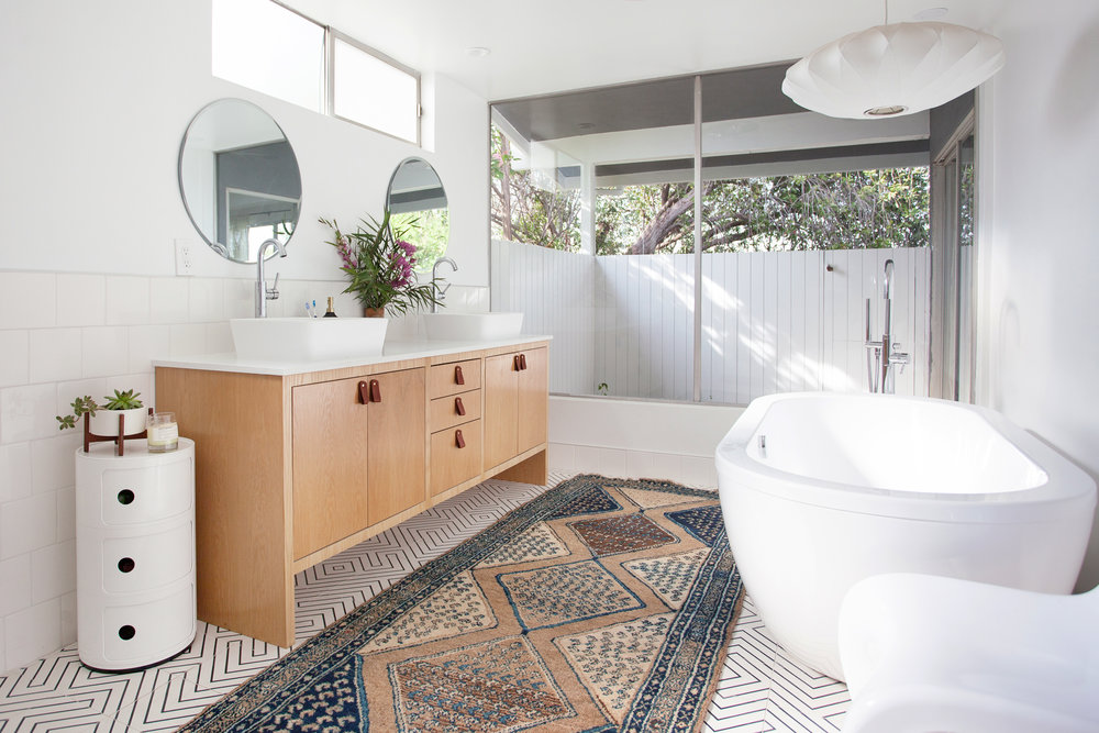 Our Ladera Heights Master Bathroom Remodel Veneer Designs - What do i need to remodel my bathroom