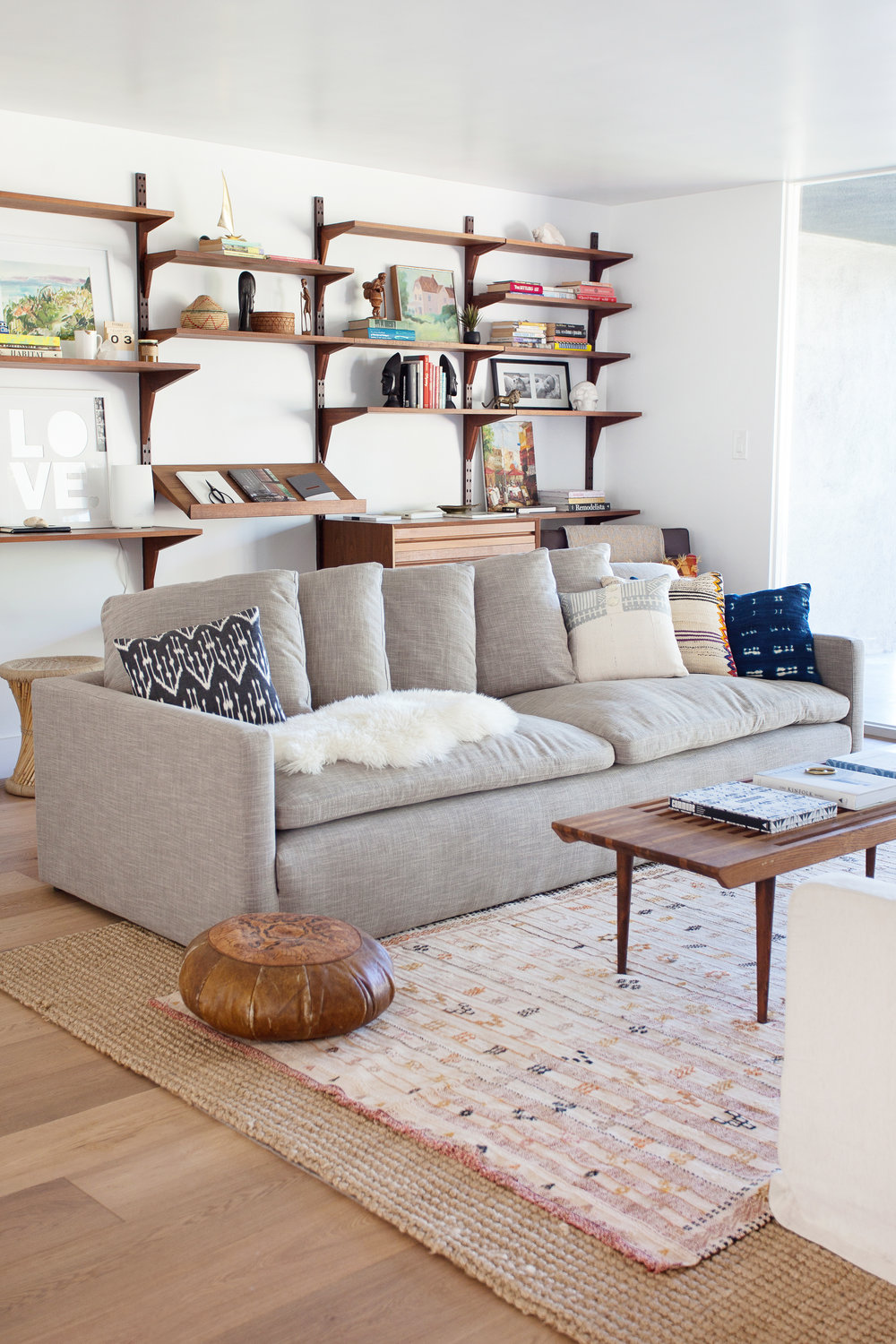 Right Before The Holidays I Got To Feathering The Nest Knowing Guests Would  Be In Town November January. First I Brought In The Retreat Sofa From West  Elm. ...