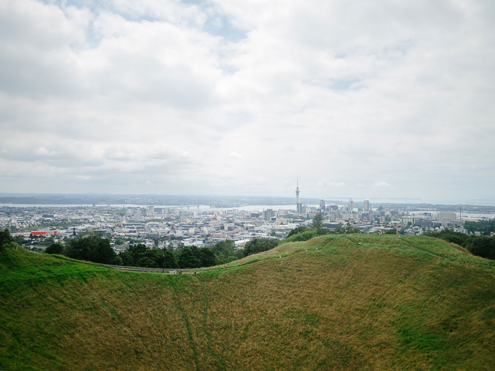 Mt. Eden (extinct volcano)