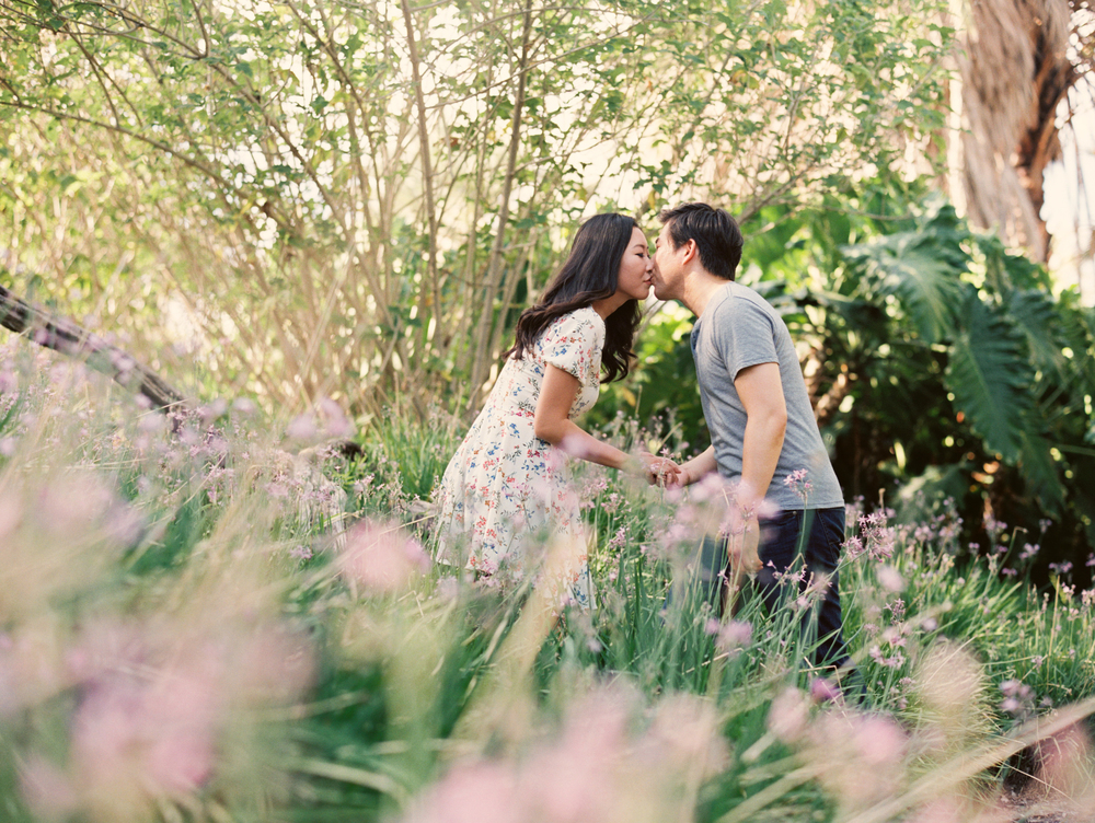 arboretum arcadia engagement session los angeles wedding photographer