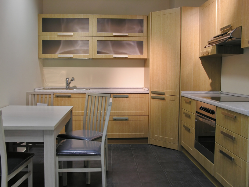 Vancouver Basement Renovation - Wood Cabinets, Stainless Steel Appliances, Pantry, Tile Flooring
