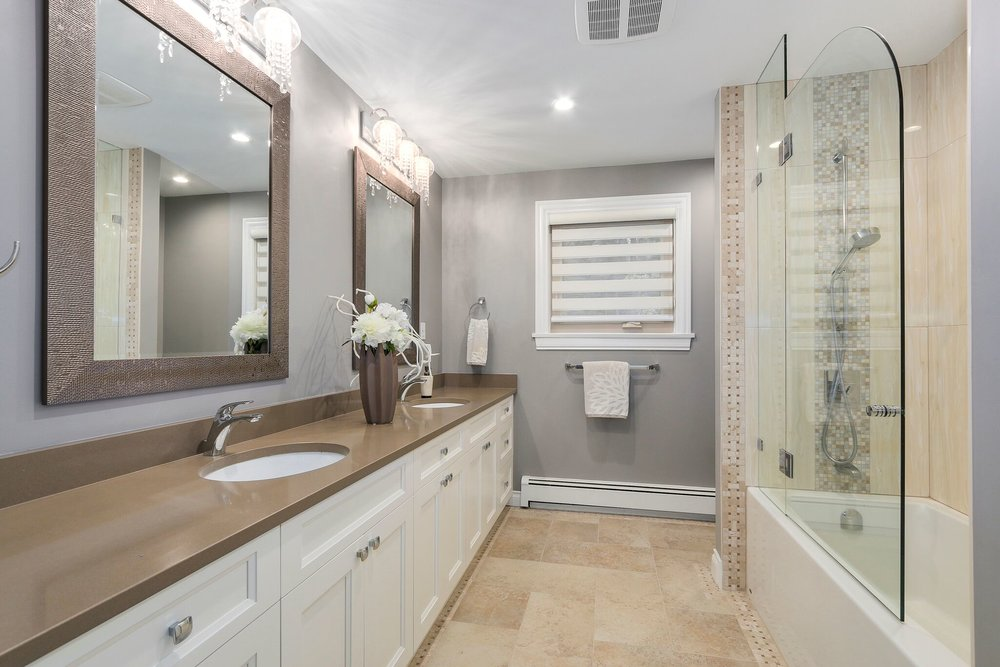 Luxury Bathroom Renovation in Coquitlam