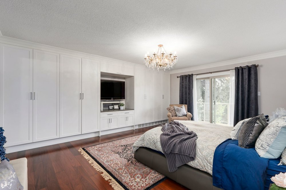 Luxury Master Bedroom Renovation in Coquitlam