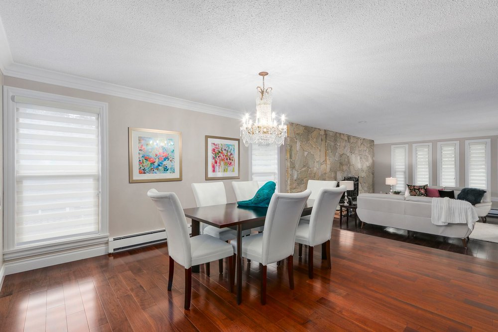 Luxury Dining Room Renovation in Coquitlam
