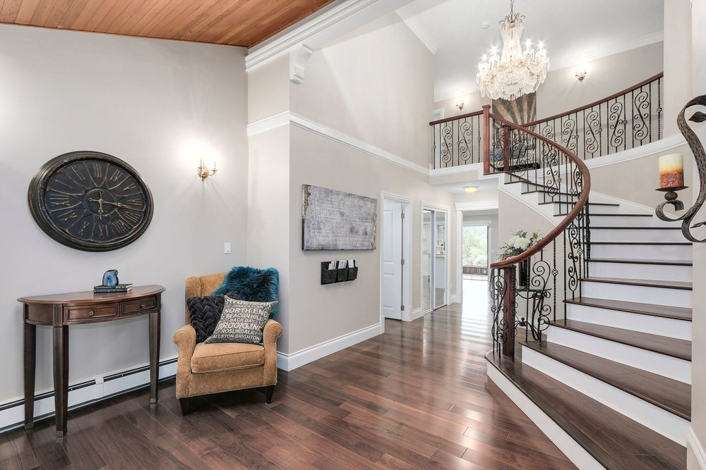 Luxury Foyer Renovation in Coquitlam