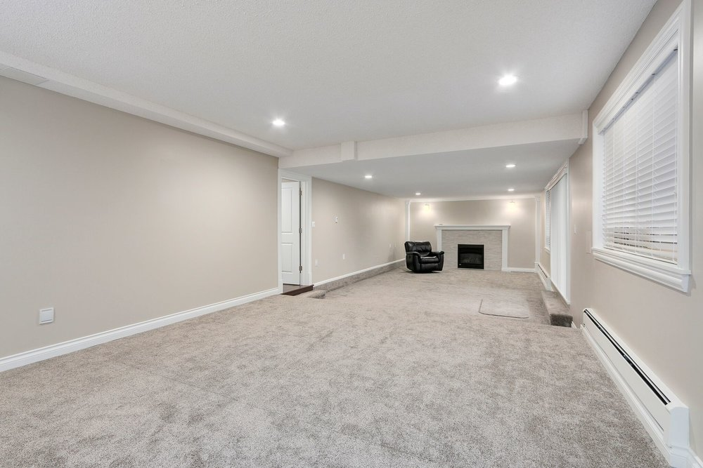 Luxury Basement Renovation in Coquitlam