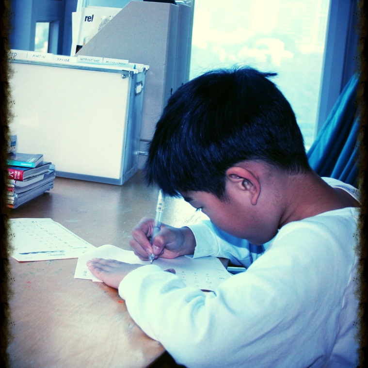 Our many mighty battles over Kumon!