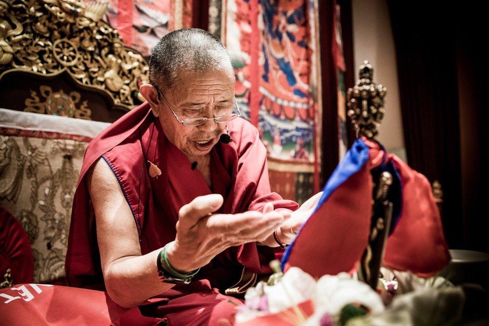 Garchen Rinpoche - APRIL 12, 2018