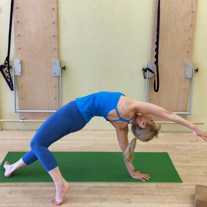 This class features many of Trina's signature yoga-inspired moves to prepare your body for a peak pose of wild thing.