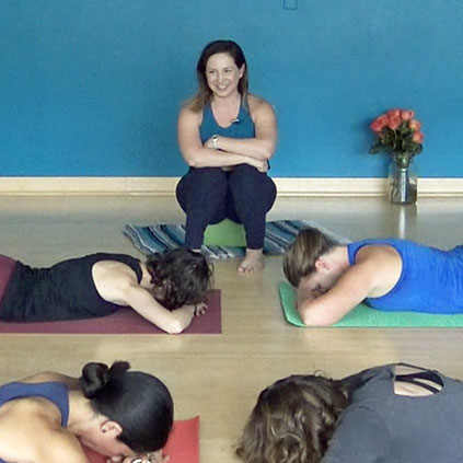 Join Francesca in this expertly-led hip-and-hamstring focused yoga flow.