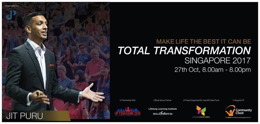 Total Transformation Singapore 2017