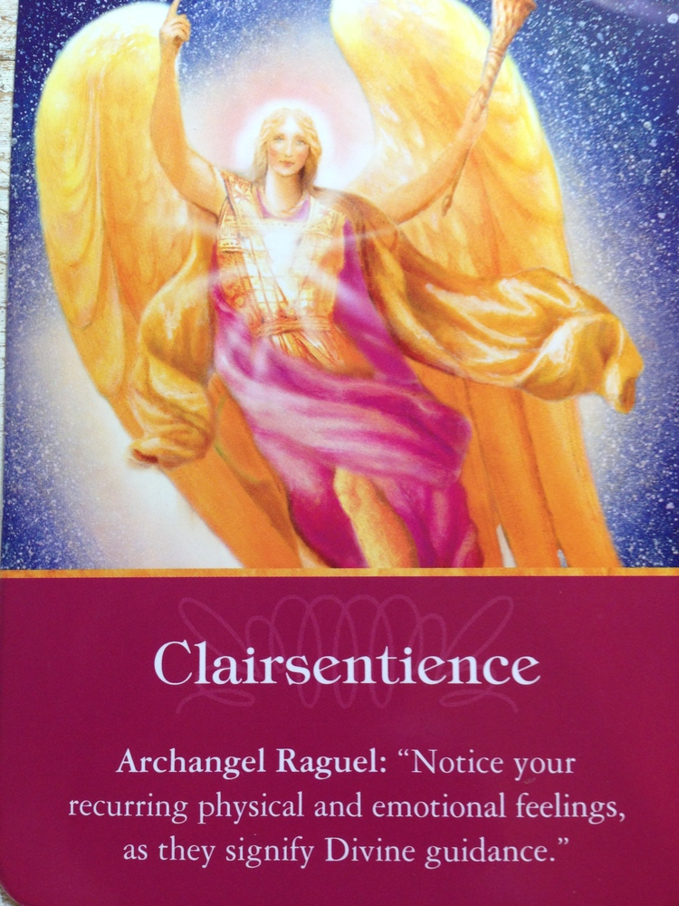 Image from Archangel Oracle Cards by Doreen Virtue www.angeltherapy.com