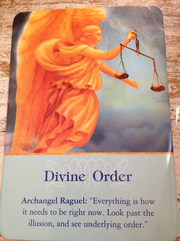 Archangel Oracle Cards by Doreen Virtue.