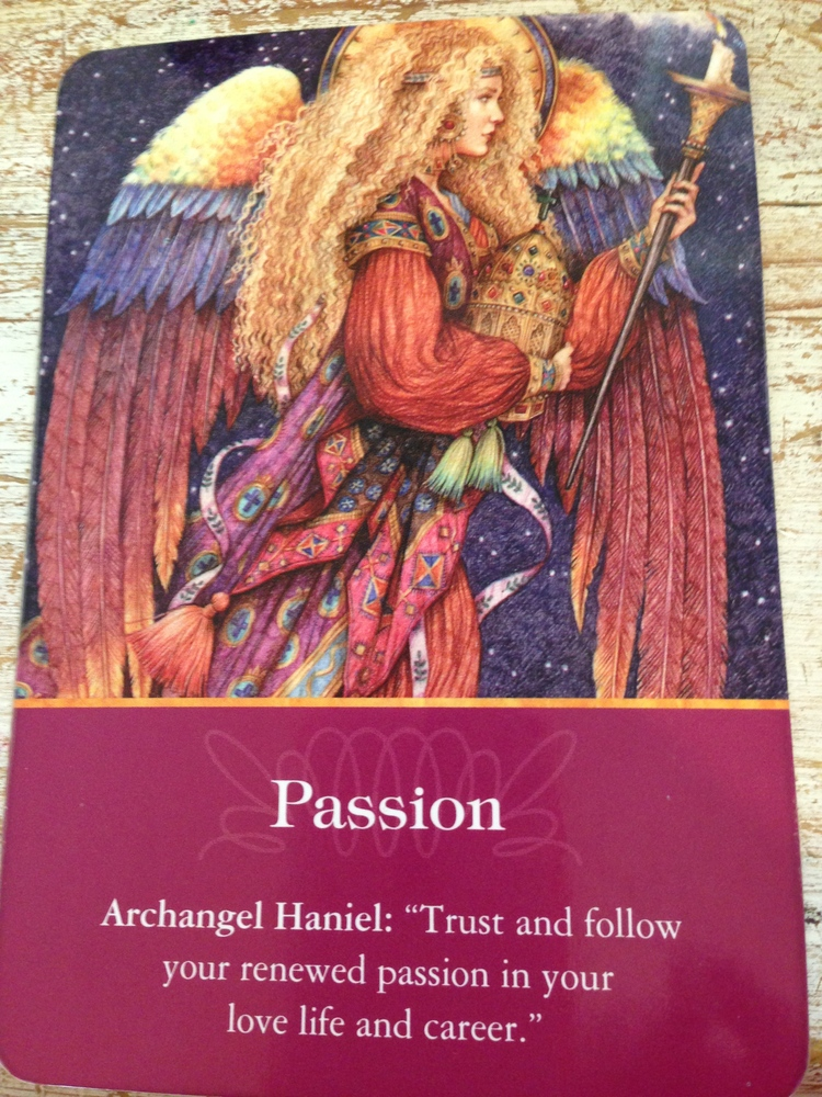 Image from Doreen Virtue Archangel Oracle Cards