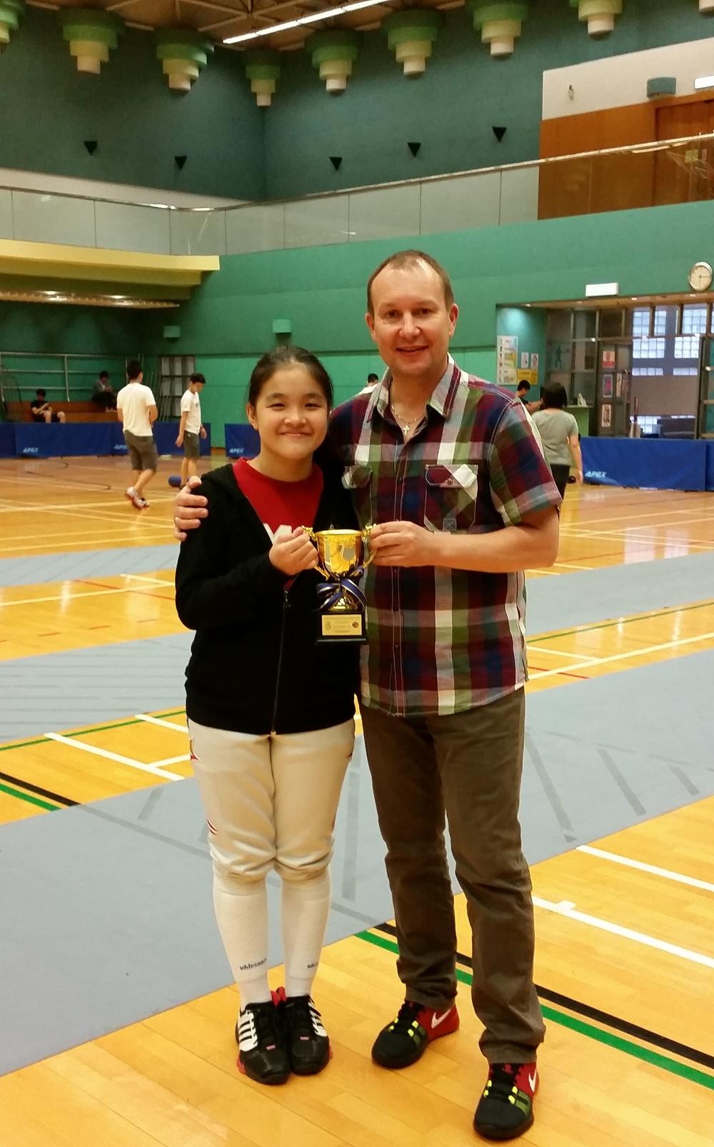 Maxine Wong Hong Kong Under-17 Fencing Championships 2015.jpg