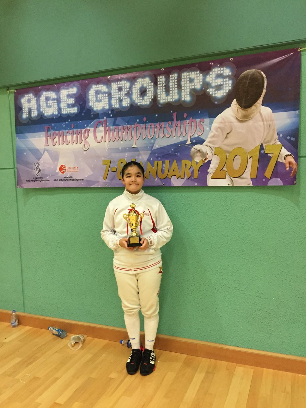 Age Group Fencing Championships 2017 Cadet Women's Foil 2.JPG