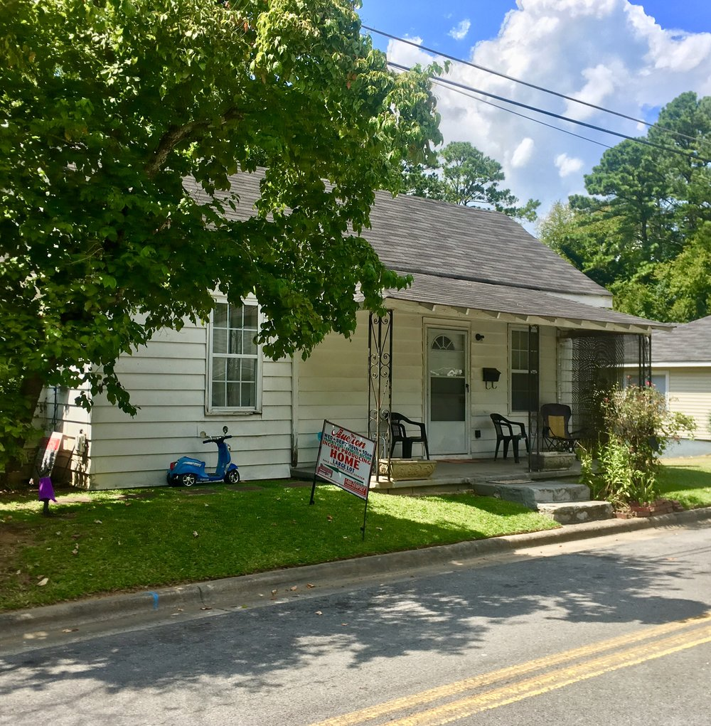 PROPERTY # 103: SELLING ABSOLUTE--SFR Home located at 345 Ross St (J13J-039) - This home offers 3 bedrooms, 1 bath and Central Heat & Air--Rome School DistrictCurrently Rented for: $450Property Taxes: $441