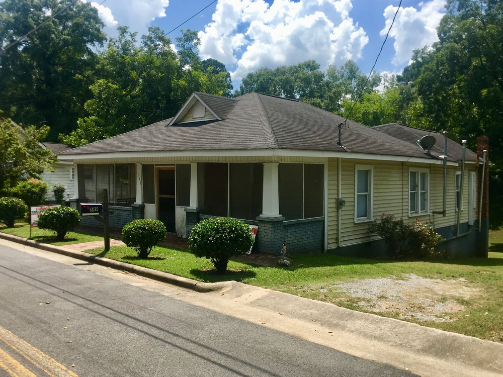 PROPERTY # 104: SELLING ABSOLUTE-- SFR Brick Home located at 349 Ross St (J13J-040) - This home features 2 Bedrooms, 1 bath, Central Heat & Air and Large Corner Lot—Coosa School DistrictPreviously Rented for: $450Property Taxes: $381