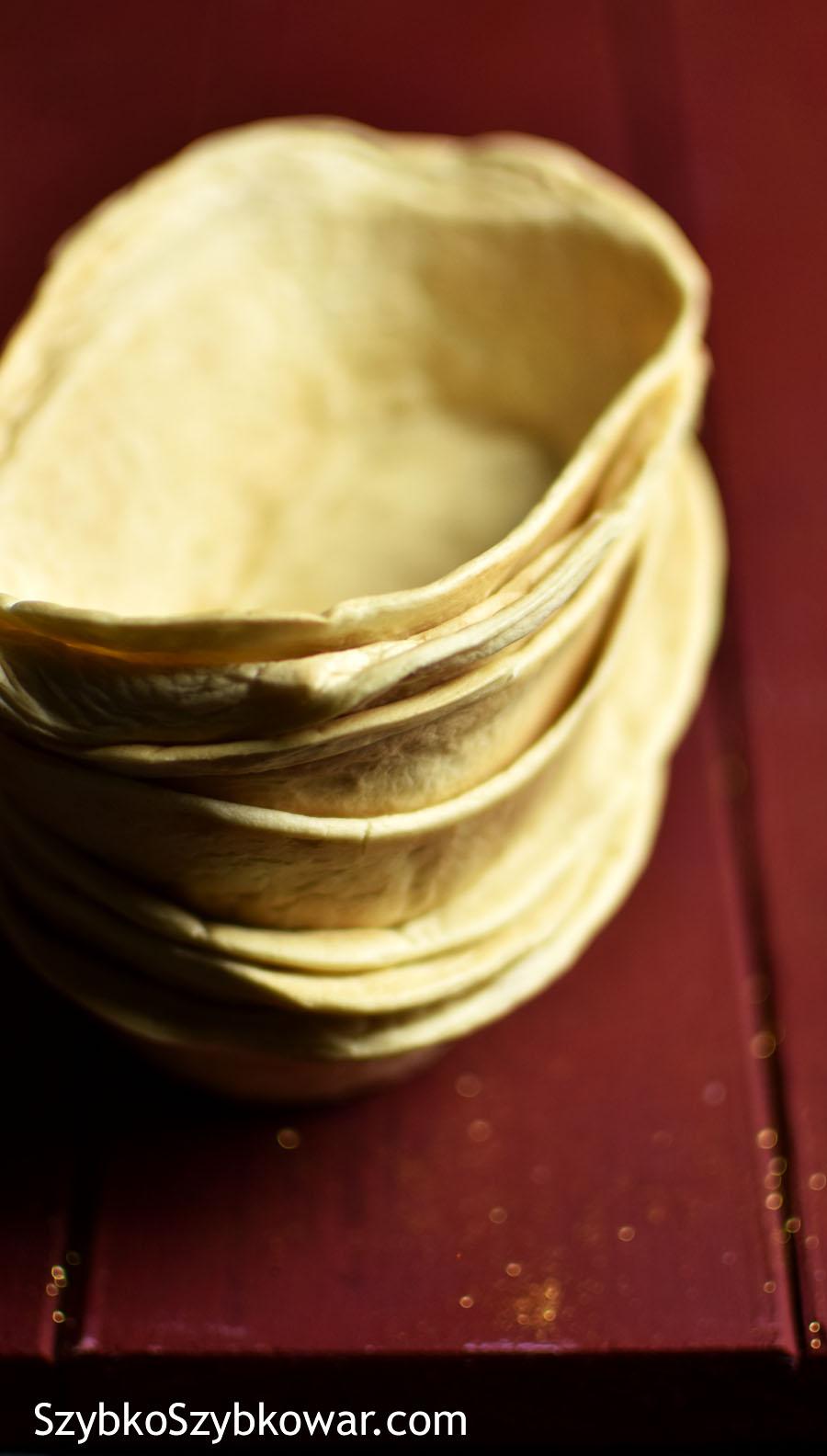 Łódeczki tortillowe.