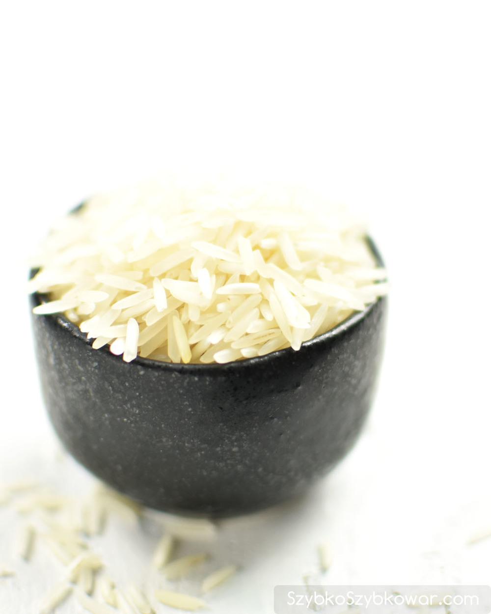 Ryż basmati długoziarnisty.