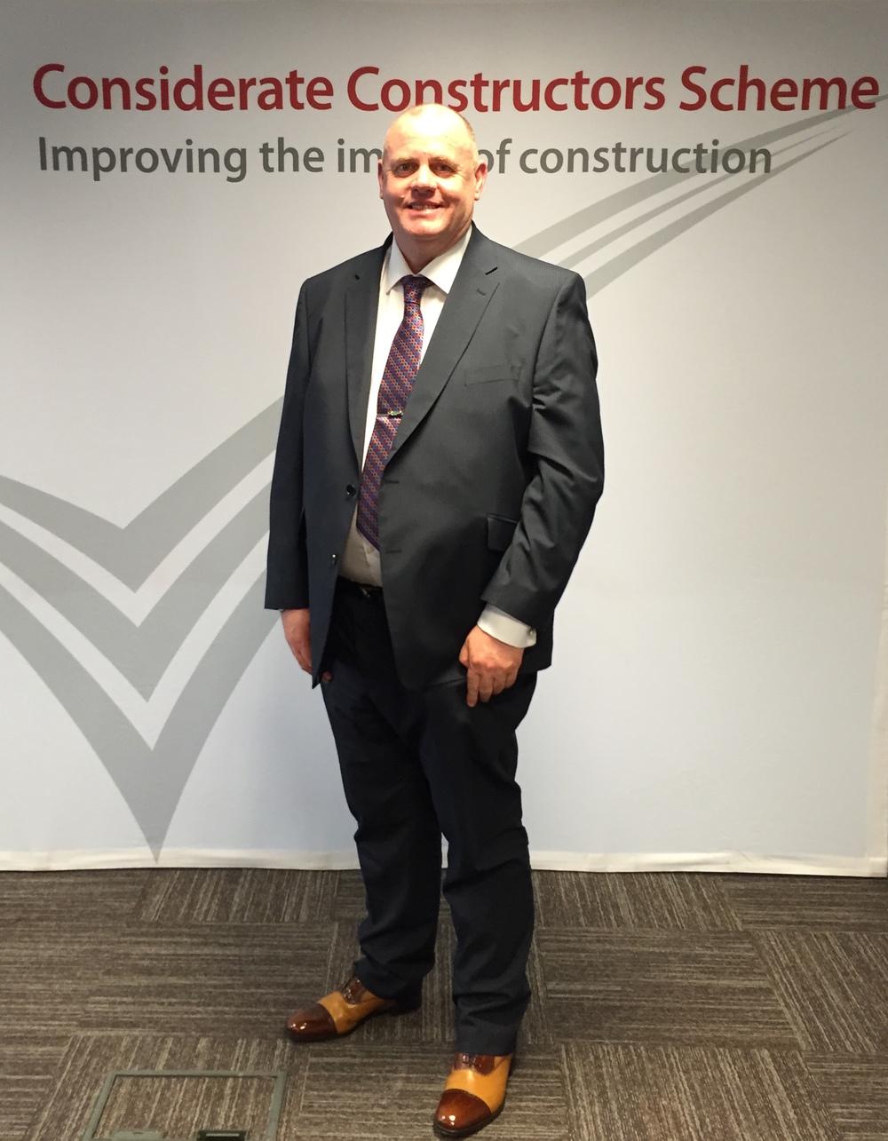 John Knott Considerate Constructors Award Winner