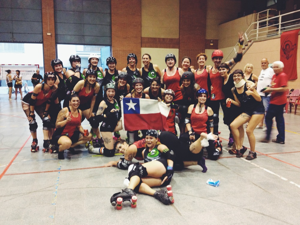 Photo: Barcelona Roller Derby