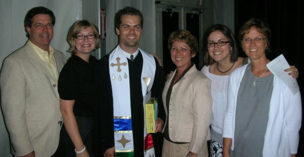 In 2010, Adam was ordained at the national 126th annual meeting of the Evangelical Covenant Church, in Green Lake, WI.
