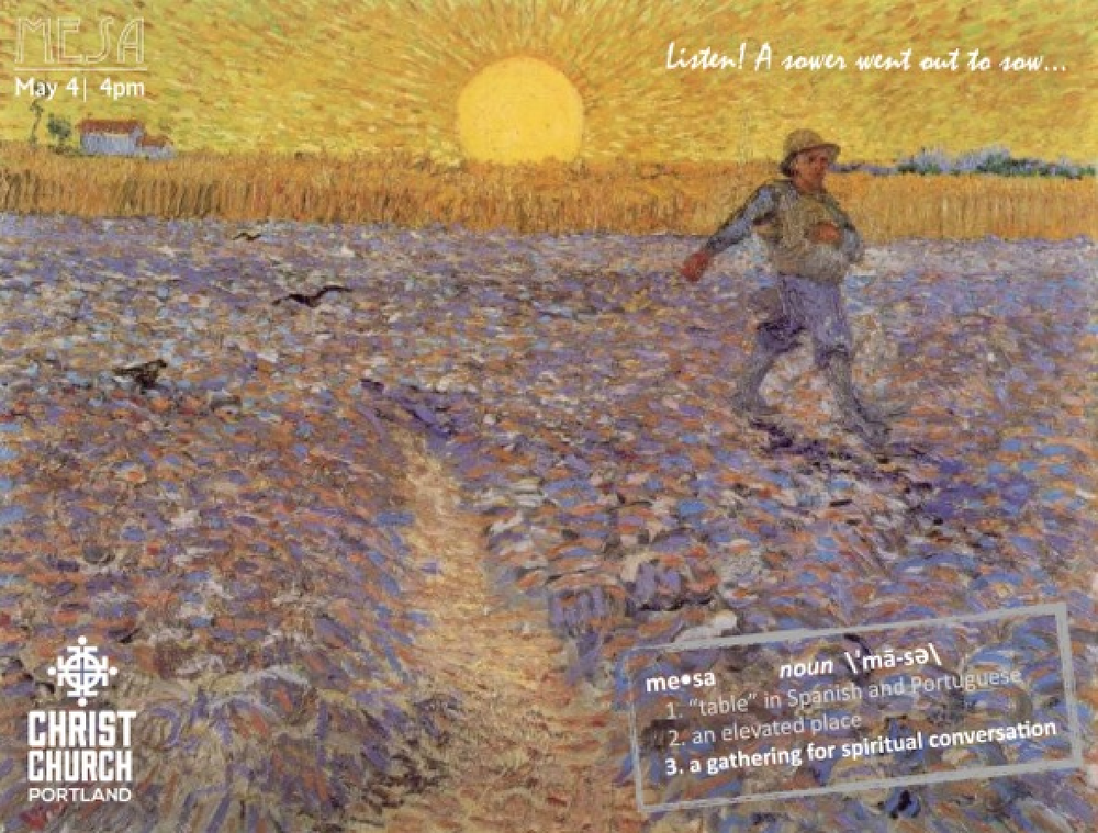"Artwork features Vincent Van Gogh's ""The Sower"" (1888)"