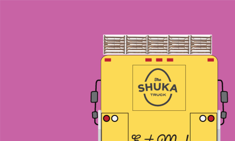 The Shuka Truck - Branding, Menu Design, Food Truck Design
