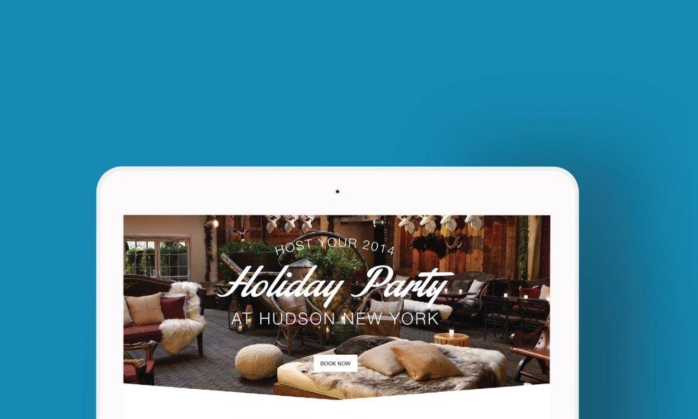 Morgans Hotel Group - Advertising, Editorial Design