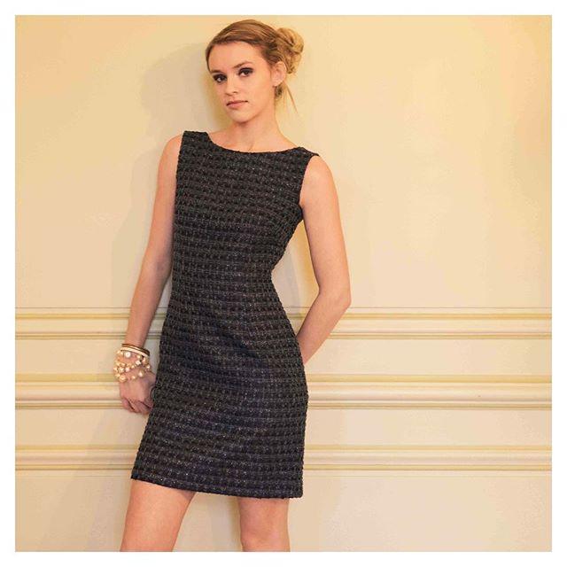 #Tweed 🖤 Belle après-midi... Have a lovely afternoon... Jolie photo de @sarahhonvault par @iconocom.agency