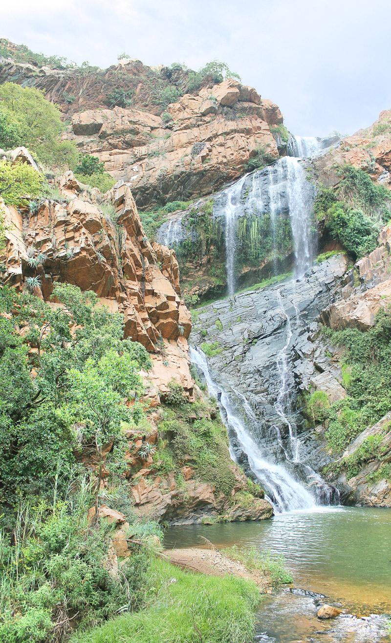 Witpoortjie Falls on Muldersdrif Se Loop.